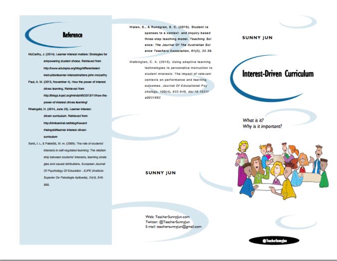 Interest-Driven Curriculum 1