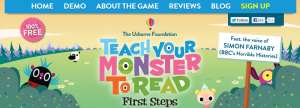 Learn letter sounds by teaching your monster to read.